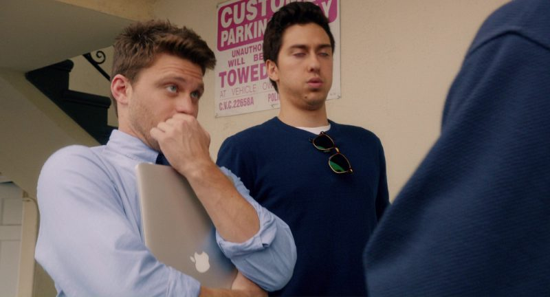 Apple MacBook Pro 15 Laptop Used by Jon Rudnitsky in Home Again (2017) Movie Product Placement