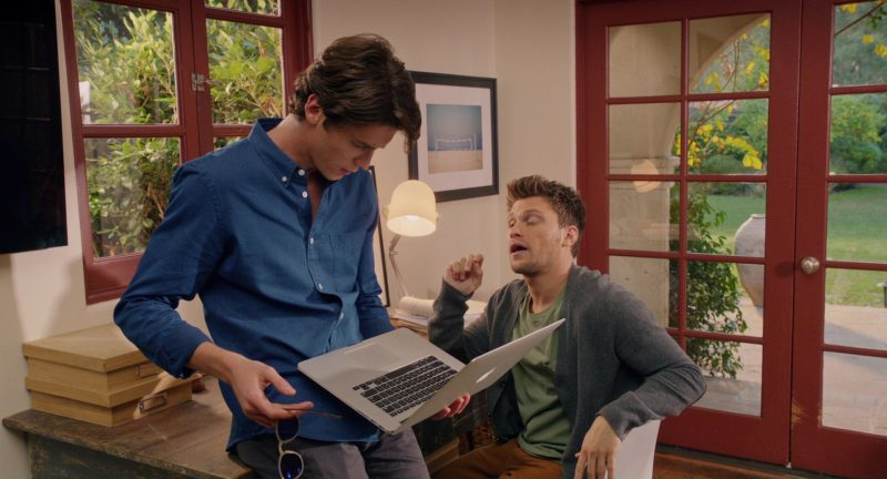 Apple MacBook Pro 15 Laptop Used by Pico Alexander in Home Again (2017) - Movie Product Placement