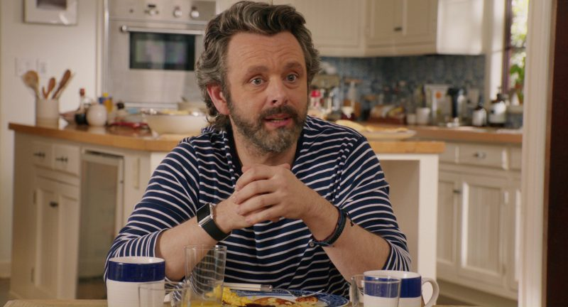 Apple Watch Worn by Michael Sheen in Home Again (2017) Movie Product Placement