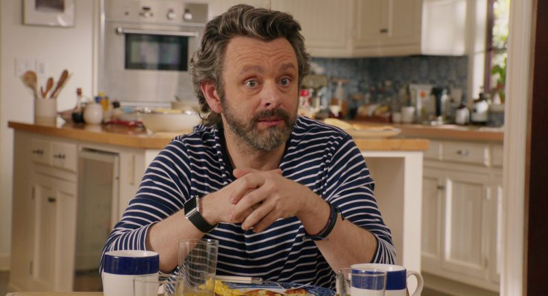 Apple Watch Worn by Michael Sheen in Home Again (2017) - Movie Product Placement