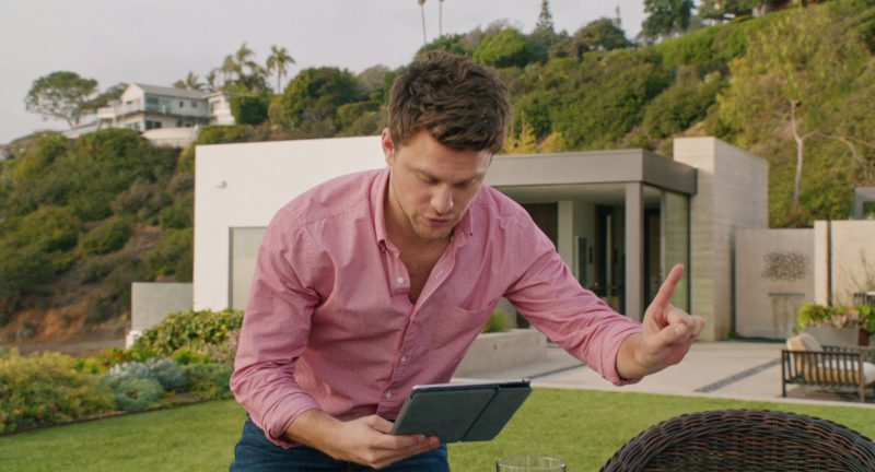 Apple iPad Tablet Used by Jon Rudnitsky in Home Again (2017) - Movie Product Placement
