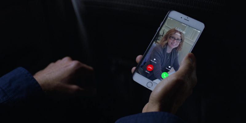 Apple iPhone Used by Ben Stiller in Brad's Status (2017) - Movie Product Placement
