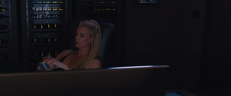Apple iPhone Used by Charlize Theron in The Fate of the Furious (2017) - Movie Product Placement