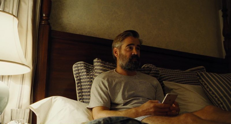 Apple iPhone Used by Colin Farrell in The Killing of a Sacred Deer (2017) Movie Product Placement
