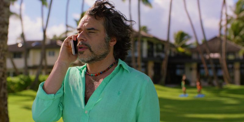 Apple iPhone Used by Jemaine Clement in Brad's Status (2017) - Movie Product Placement
