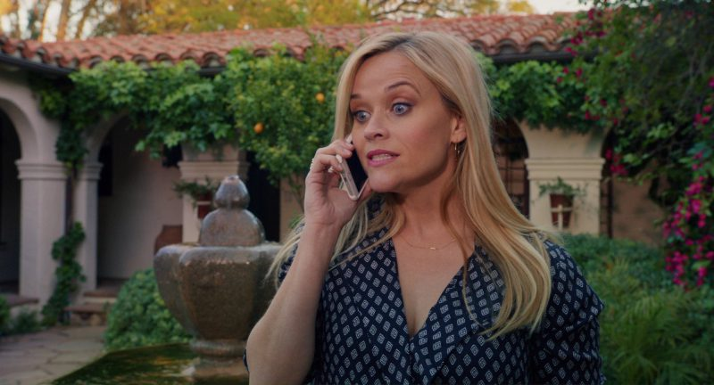 Apple iPhone Used by Reese Witherspoon in Home Again (2017) Movie Product Placement