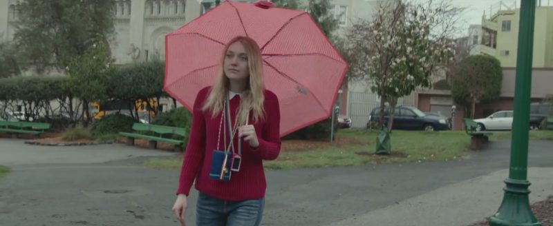 Apple iPod Nano Portable Media Player Used by  Dakota Fanning in Please Stand By (2017) Movie Product Placement