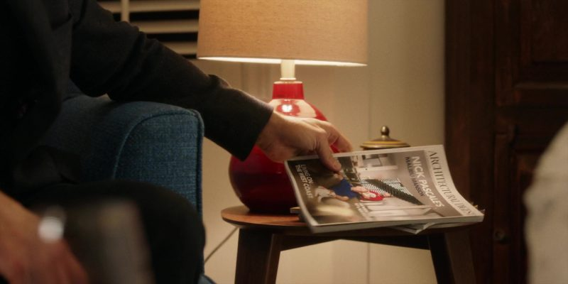 Architectural Digest Magazine in Brad's Status (2017) Movie Product Placement