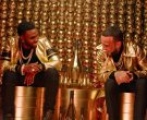 Armand de Brignac Brut Gold Champagne in Tip Toe by Jason Derulo ft. French Montana (10)