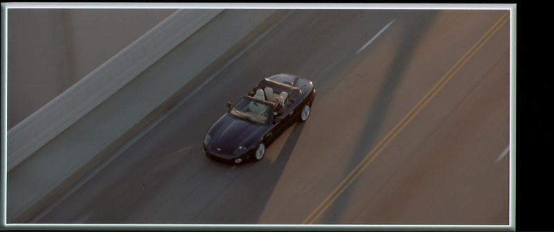 Aston Martin DB7 Vantage Volante Used by Jason Statham in The Italian Job (2003) Movie Product Placement