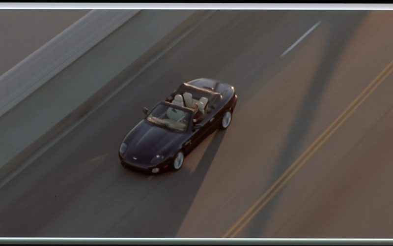 Aston Martin DB7 Vantage Volante Used by Jason Statham in The Italian Job