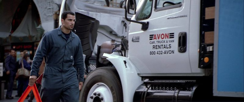 Avon Truck Rental in The Italian Job (2003) Movie Product Placement
