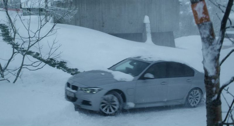 BMW 5 Series Car Used by Rebecca Ferguson in The Snowman (2017) - Movie Product Placement