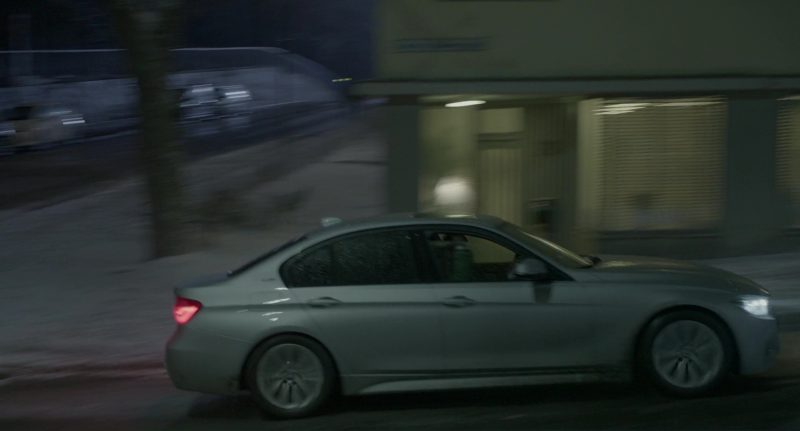 BMW 5 Series Car Used by Rebecca Ferguson in The Snowman (2017) Movie Product Placement