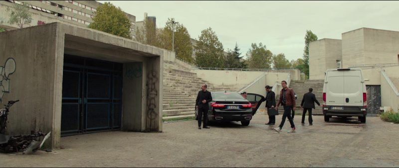 BMW 7 Series Car in American Assassin (2017) - Movie Product Placement