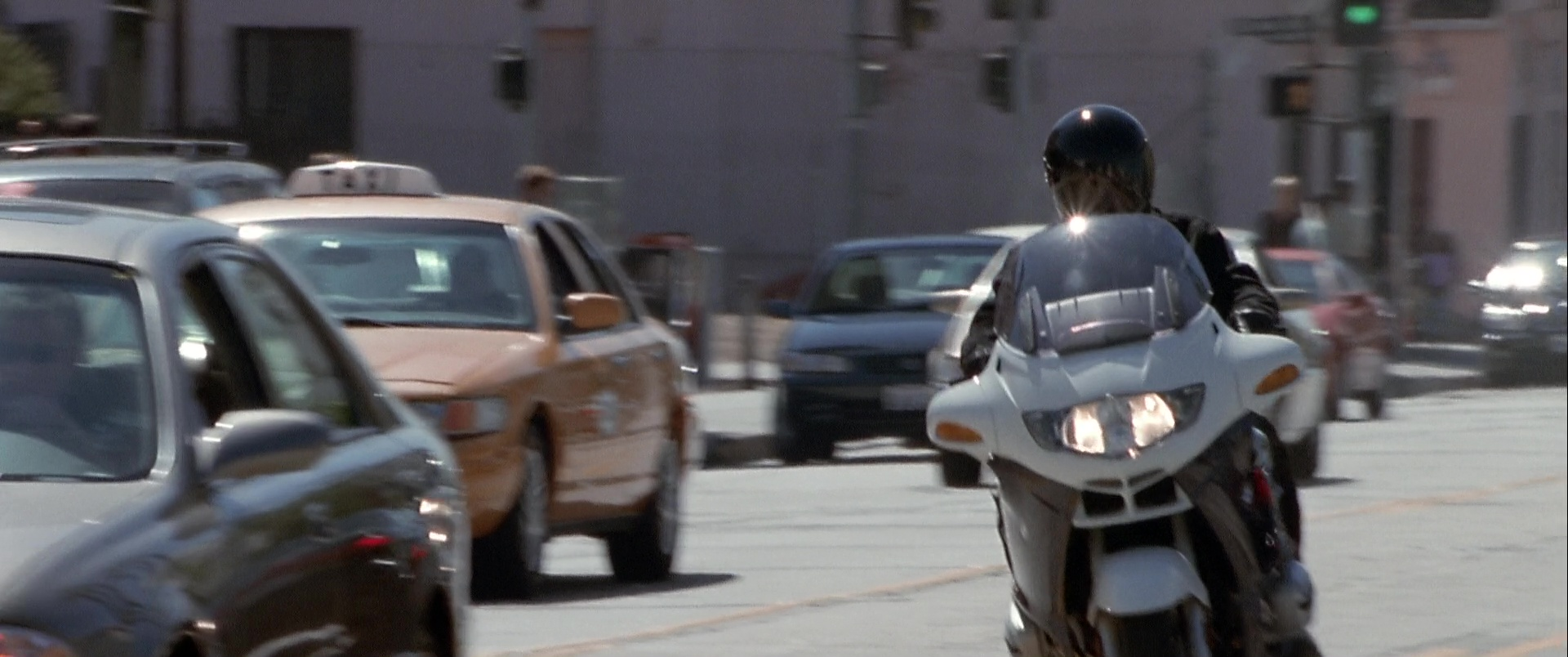 BMW R1150RT Motorcycles in The Italian Job (2003) Movie