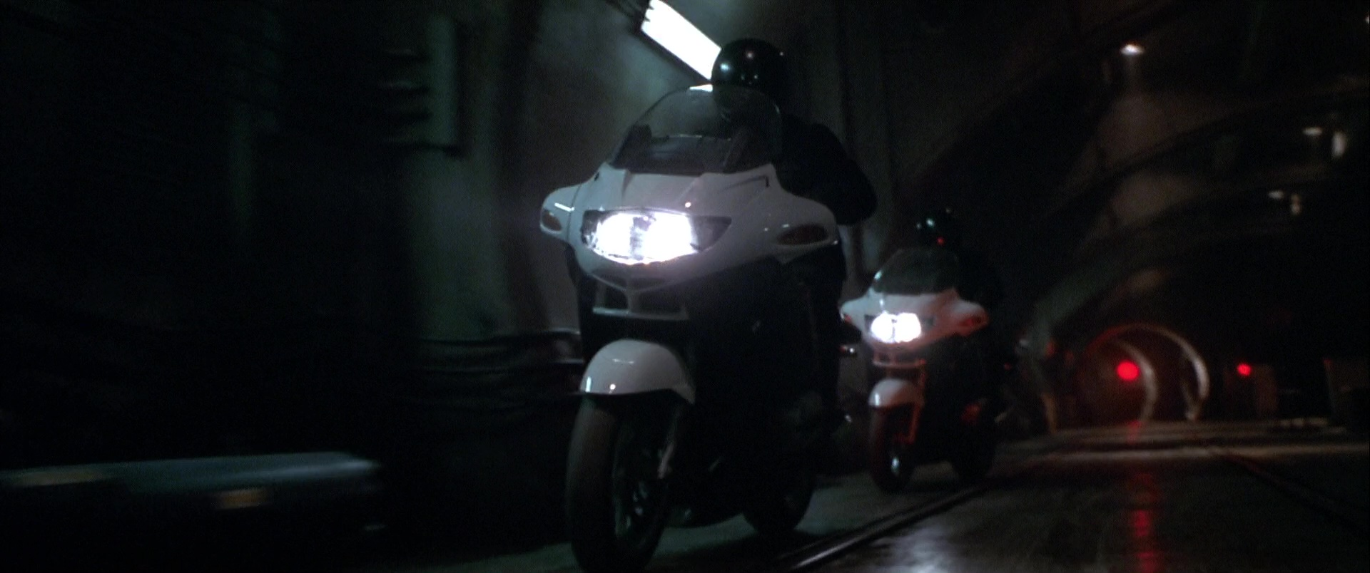 Bmw R1150rt Motorcycles In The Italian Job 2003 Movie Scenes