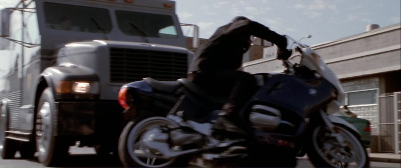 BMW R1150RT Motorcycles in The Italian Job (2003) Movie Product Placement