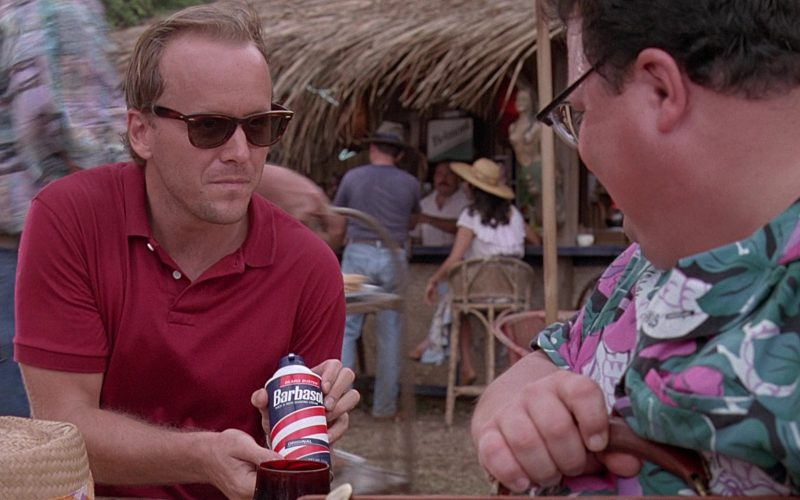 Barbasol Shaving Cream in Jurassic Park (1)