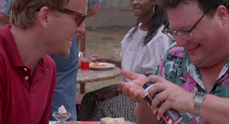 Barbasol Shaving Cream in Jurassic Park (1993) - Movie Product Placement