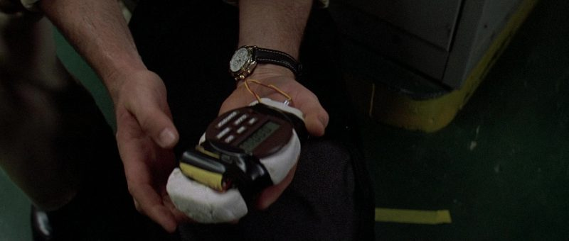 Breitling Chronomatic Men's Watch Worn by Alec Baldwin in The Getaway (1994) - Movie Product Placement