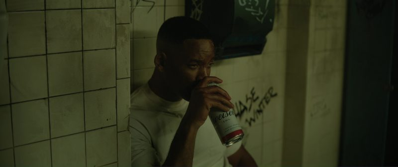 Budweiser Beer and Will Smith in Bright (2017) - Movie Product Placement