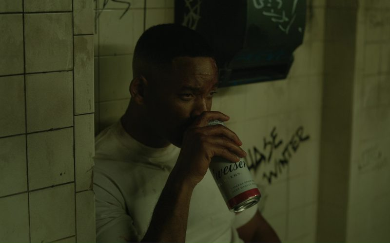 Budweiser Beer and Will Smith in Bright