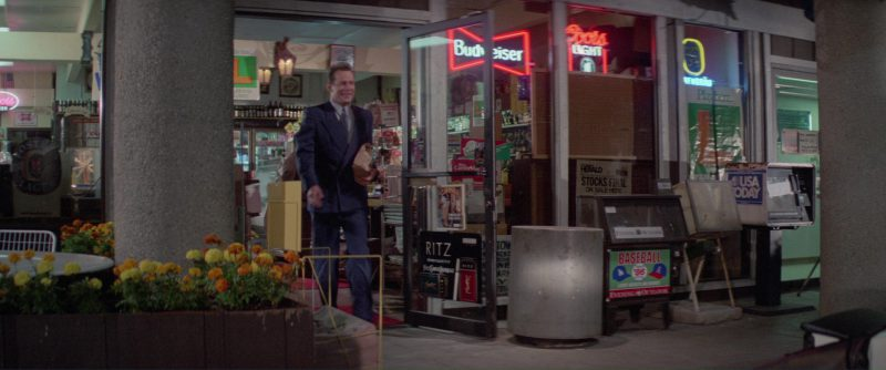 Budweiser, Coors Light, USA Today, YSL in Blind Date (1987) Movie Product Placement