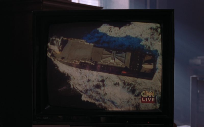 CNN TV Channel in The Lost World Jurassic Park (1)