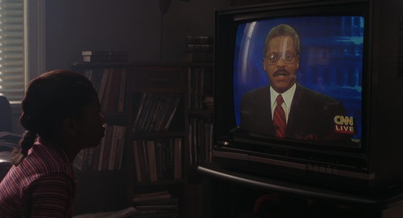 CNN TV Channel in The Lost World: Jurassic Park (1997) Movie Product Placement