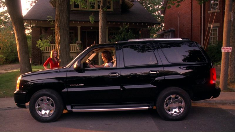 Cadillac Escalade Car Used by Lacey Chabert in Mean Girls (2004) - Movie Product Placement