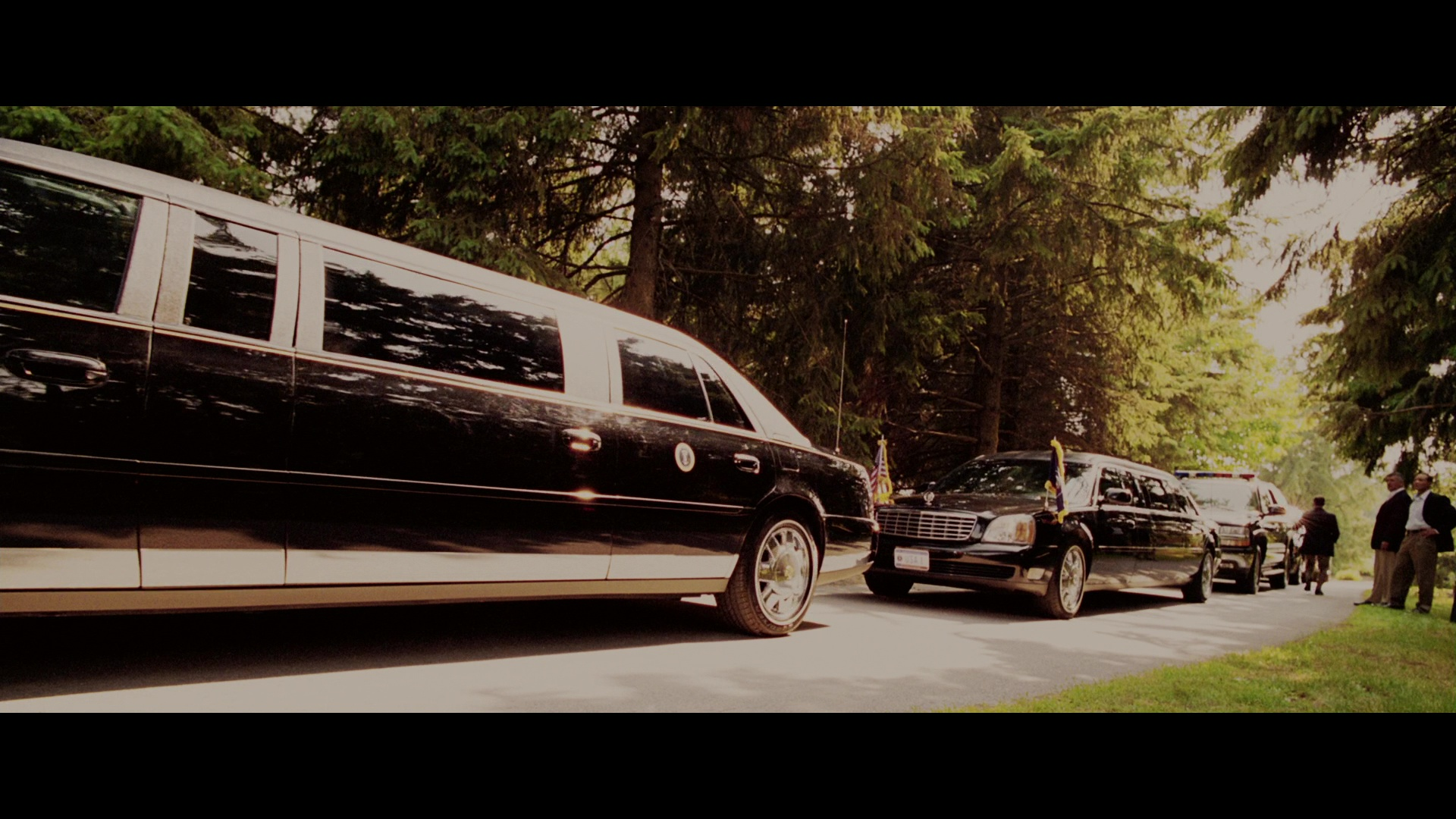 Cadillac Stretched Limousine Cars In The Sentinel 2006 Movie