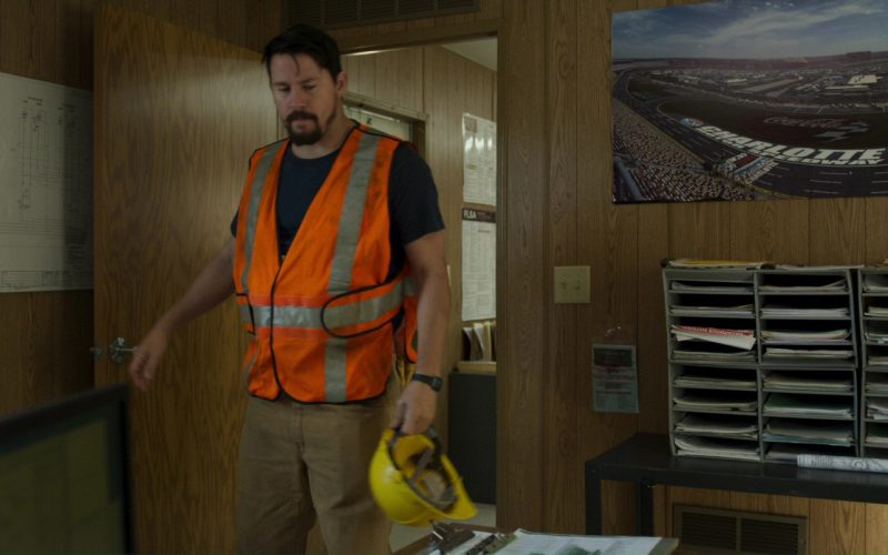 Charlotte Motor Speedway and Coca-Cola Poster in Logan Lucky