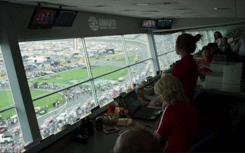 Charlotte Motor Speedway in Logan Lucky (1)