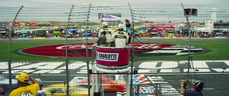 Charlotte Motor Speedway in Logan Lucky (2017) - Movie Product Placement