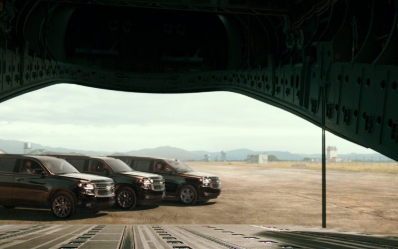 Chevrolet Suburban Black Cars in xXx Return of Xander Cage (1)