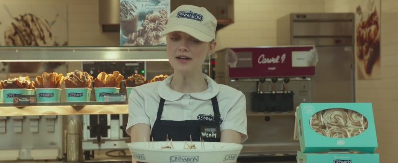 Cinnabon Bakery Restaurant in Please Stand By (2017) - Movie Product Placement