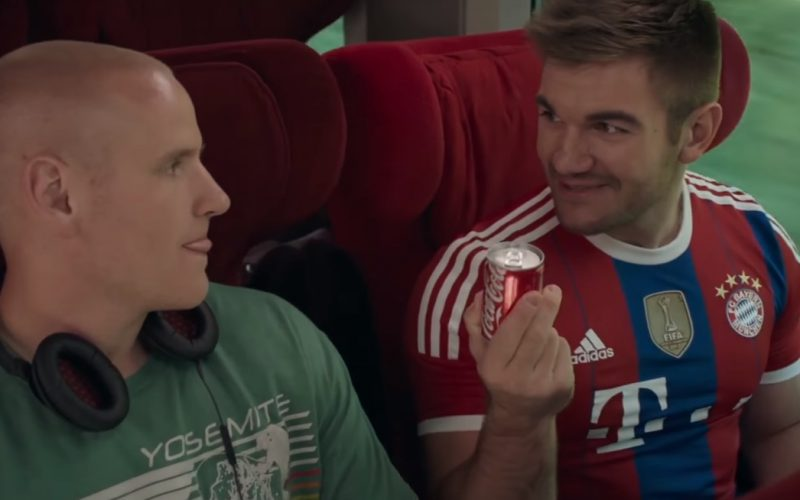Coca-Cola And Adidas T-Shirt (FIFA and FC Bayern Munich) in The 1517 to Paris (1)