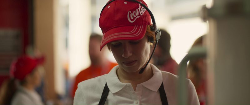 Coca-Cola Caps in Logan Lucky (2017) Movie Product Placement