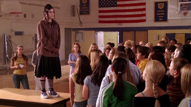 Converse Shoes Worn by Lizzy Caplan in Mean Girls (2004) Movie Product Placement