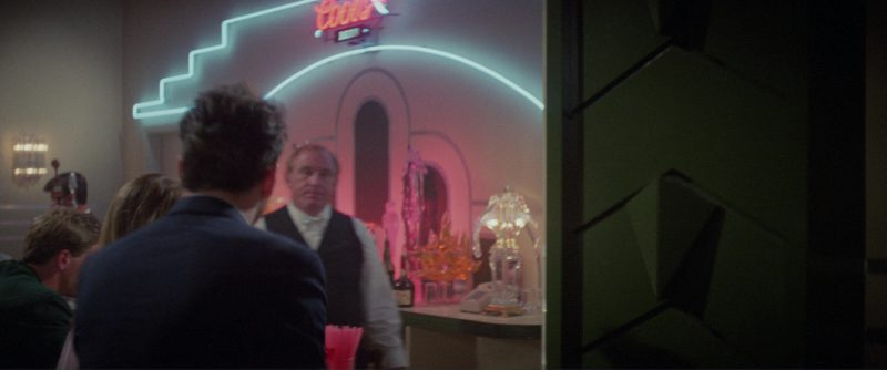 Coors Beer Sign in Blind Date (1987) - Movie Product Placement