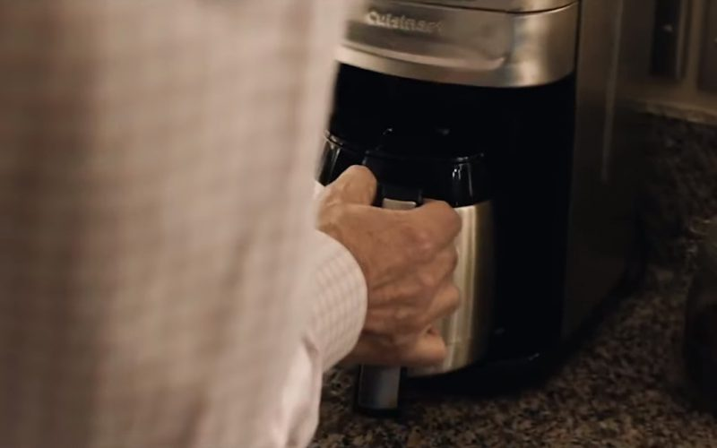 Cuisinart Coffee Maker Used by Liam Neeson in The Commuter