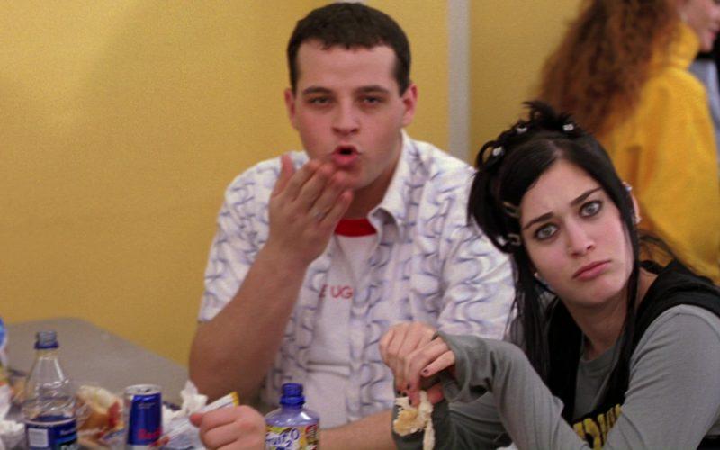 Dasani, Red Bull, Fruit2O in Mean Girls