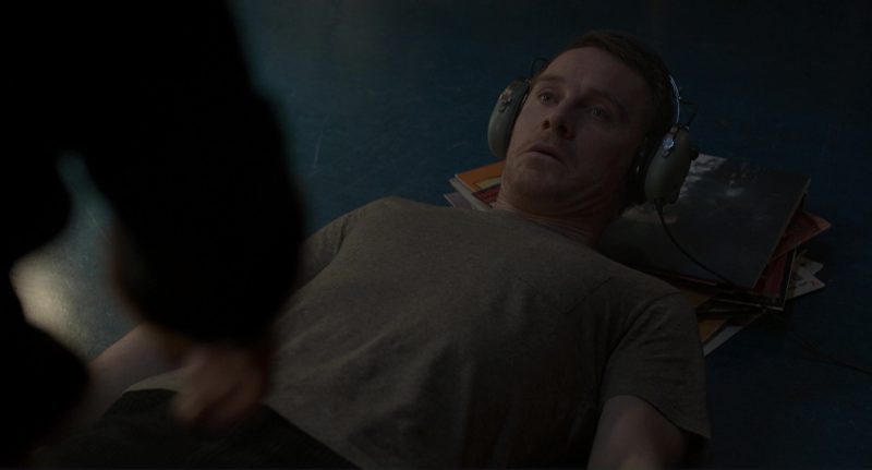 David Clark Headphones Used by Michael Fassbender in The Snowman (2017) Movie Product Placement