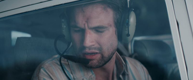 David Clark Headsets Used by Alex Russell in Jungle (2017) - Movie Product Placement