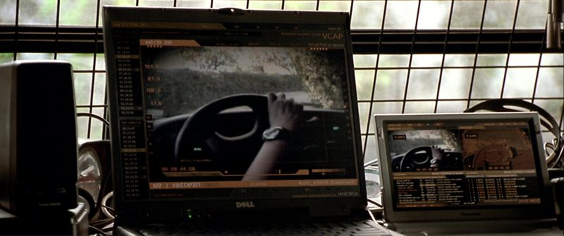 Dell And Panasonic Notebooks in The Italian Job (2003) - Movie Product Placement