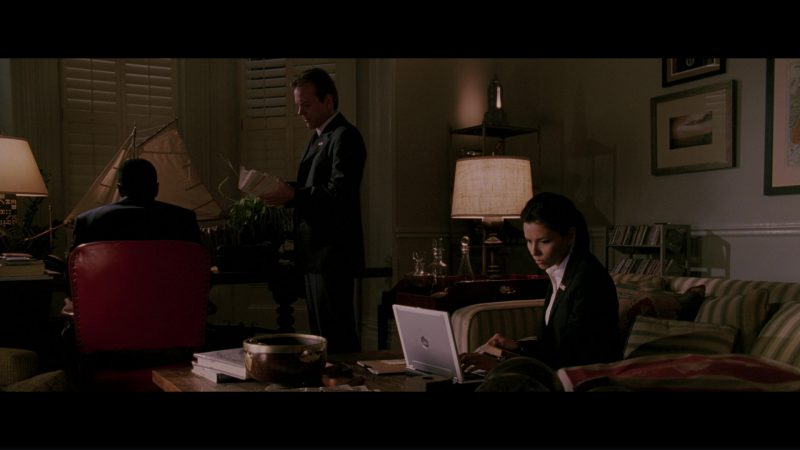 Dell Laptop Used by Eva Longoria in The Sentinel (2006) Movie Product Placement