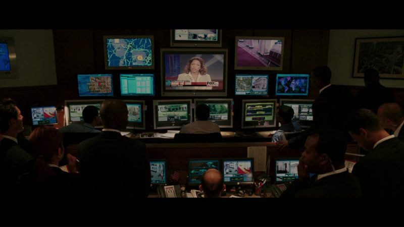 Dell Monitors, Samsung TV and FOX News TV Channel in The Sentinel (2006) - Movie Product Placement