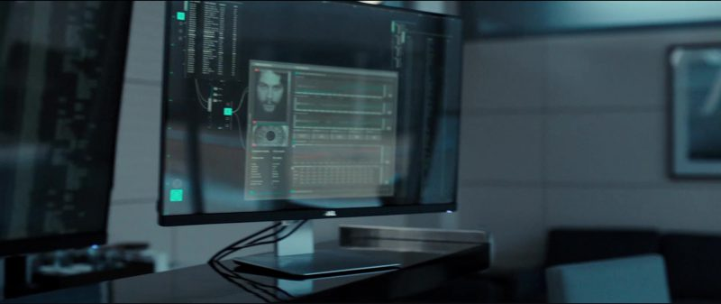 Dell Monitors in American Assassin (2017) - Movie Product Placement