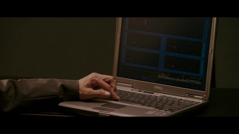 Dell Notebooks in The Sentinel (2006) - Movie Product Placement
